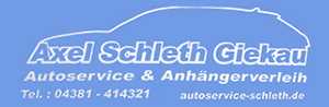Autoservice Axel Schleth in Giekau Logo